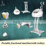 High quality fractional rf machine, luxurious, superior trolley, used for face lift, skin rejuvenation,wrinkle removal