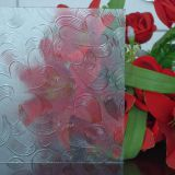 Flora Mistlite Karatachi Nashiji Diamond Figured Glass, 3-8mm Clear Patterned Decorative Glass