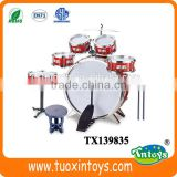 Musical jazz drum set Children music instrument 5 drums