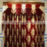 TOP ONE 2016 Polyester Luxury Embroidery Window Curtains/ Popular Elegant Beaded Curtains
