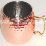 16 Oz Copper Plated Stainless Steel Mule Mug ,Copper Mug Manufacturer, China Wholesale Copper Mug Suppliers