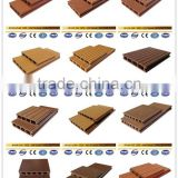 Promotional sale wpc indoor decking floor, plastic sheets for flooring, waterproof and non-slip floor