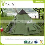 China 2017 Hot Selling Big Camping Bell Rock Indian Teepee Camping Tent