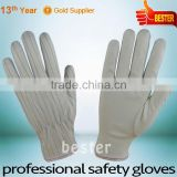 Newly Hot sale working polyester pu coated glove