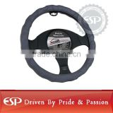 #19593 38cm diameter Genuine Leather Cool Steering wheel cover