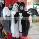 5170427-42 Halloween cosplay ghost suit for costume party Black and white cosplay cloth