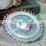 Round Shape Decorative Sewing Dressmaker Pin Weel