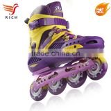 professional single row quad roller skates inline for adults couple 2017