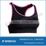 Functional Xiamen Sportex lady binding bra, sports bra for ladies, bra for ladies OEM#13119