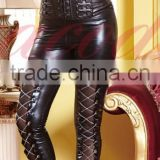 Instyles walson NEW SEXY PVC LEATHER LOOK CATSUIT CLUBWEAR COSTUME FANCY DRESS