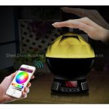 New Multifunction Bluetooth Smart Led Night Light With Bluetooth 4.0 Speaker Alarm Clock FM Radio BL11