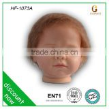 Top quality wefted mohair, reborn wig babies, oem styling head toy