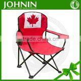 EXW hot selling custom printing polyester outdoor folding nylon chair flag