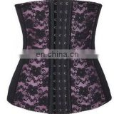 7 Steel Boned Embroidery Waist Training Corset Bodyshaper