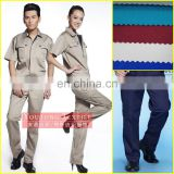 strong wear fabric/canvas fabric for workwears garment fabric textile