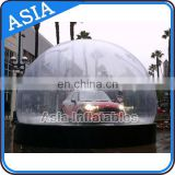 Popular Inflatable Bubble Tent for Car Cover, Inflatabel Snow Globe for Car Exhibition / Advertising Event