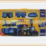 Hot sale smoke train toys sets, toy train with smoke