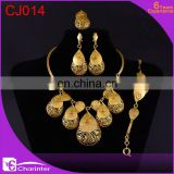 free shipping big fashion jewelry set/dubai gold jewelry set / rani haar jewelry set CJ014