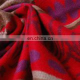 Fashion Women Winter Print Silk pashmina shawl