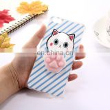 new prodcut cute Huawei P10 Lite Lovely 3D Cartoon Squeeze Relief Squishy Dropproof Protective Back Cover phone Case