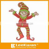 Christmas Flash Joker Clown Kids Applique Badge For Kinds Clothing