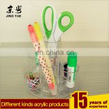 Office Supplies Pen Container Multifunctional PMMA Acrylic Pen Holder