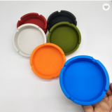 Unique Square Flexible Heat-resistant Silicone Ashtray Image