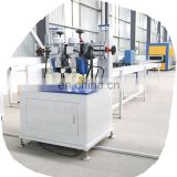 Advanced knurling thermal break machine with strip feeding for aluminum window and door