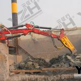 Casting And Foundry Stationary Hydraulic Rock Breaker Boom System