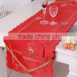 Rectangle ribbon embroidery tablecloth wedding table cloth western style tablecloth christmas coloring tablecloth