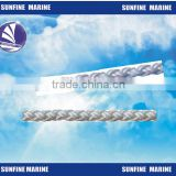 New! Offshore marine type rope/ 8 strand plated nylon rope/ 8 Strand plaited polypropylene/polyester rope/line 220m