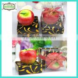 Hot sell apple shape candle 2014 wedding giveaway gifts