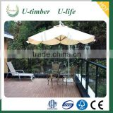 Finely processed WPC decking sheet price
