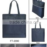 High quality hot sale items fashion Promotional Tote Bag blue color factory price stanard size classical