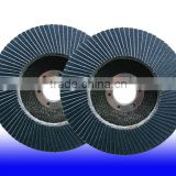 125x22mm Abrasive blue color zirconia flap disc