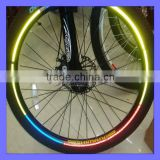 Fluorescent MTB Bike Stickers Bicycle Wheel Reflector Rim Light Tape