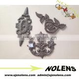 Cast Iron Rosettes Fence or Gate Components/2015 Hot Products Decorative Garden Decoration