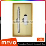 Silver stainless steel ball point for cooperation gift