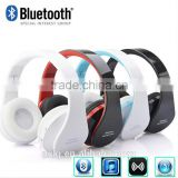 3.5mm Audio Jack Bluetooth Headset Earphone Earbuds Stereo Foldable Handsfree Headset with Mic for for TV