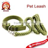Dog Training Collars, Martingale Collars, Metal Buckle Dog Collars and Dog Rope LeashSet