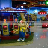 Driving School, popular theme rides in FEC, battery car for kids, family game, amusement park rides