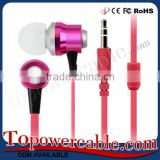 Guangzhou Factory Supply Free Sample RoHS Certificated Earbuds Headphones