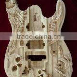 UNFINISHED PROJECT ELECTRIC GUITAR BUILDER WITH SKULL BODY(K41)