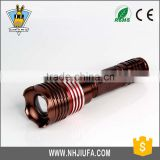 JF 3 Modes 1x18650 Batteries Adjustable Focus torch flashlight, flashlight torch, led flashlight torch