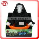 Hot sale halloween mask skull candy with light and sound