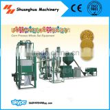 Corn Milling Machine, Corn Flour Whole Set Equipment for Capacity 200-300kg/h