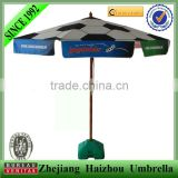 Advertising Gazebo umbrella for Patio Cafe and resto