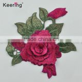 3D Flower wholesale custom embroidered patches for clothing                                                                         Quality Choice