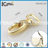 20mm Gold Metal D Ring Swivel Snap Hook For Handbag                                                                         Quality Choice