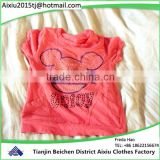 For Africa used clothing children summer wear used clothing